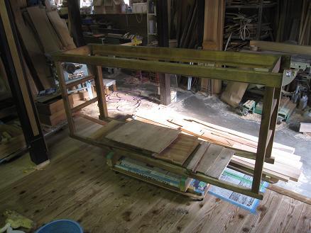 水屋箪笥、解体修理